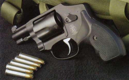 Smith and Wessson Model 442 in .38 Special