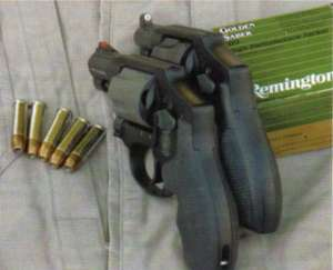 Smith and Wesson Model 442 and Model 340PD
