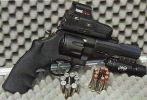 TRR8 Revolver from mioth & Wesson