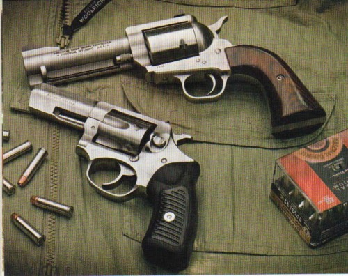 Freedom Arms Model 97 and Ruger SP101